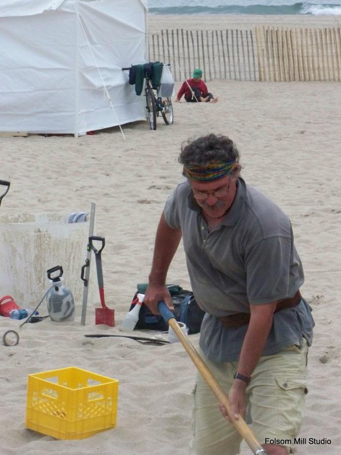 Shoveling the Sand