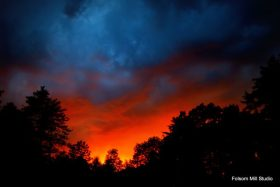 wild sky photograph