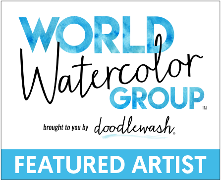 World Watercolor Group Featured Artist_